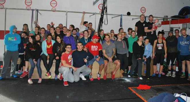 Rocktape Article for Crossfit Throwdown at CrossfitKernow