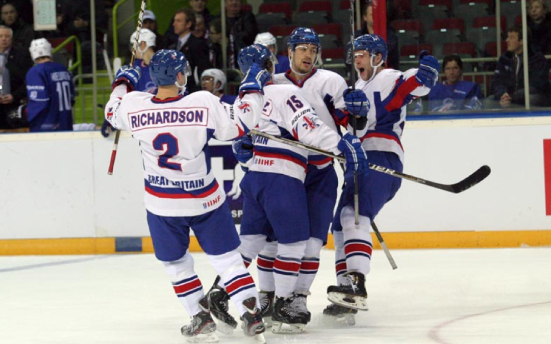 RockTape Sponsors the GB Men's Ice Hockey team