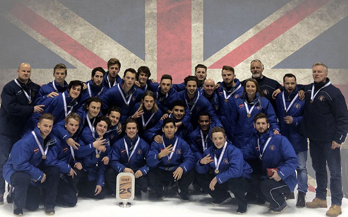 RockTape and the Great Britain Ice Hockey Team