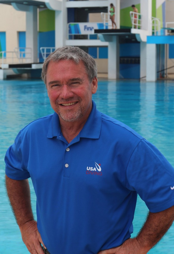 Terry Robinson, PT, ATC. Head Athletic Trainer, United States Diving