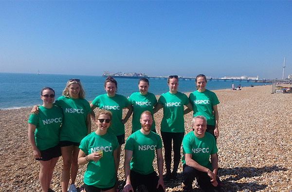 Rocktape, the NSPCC and the Brighton Marathon!