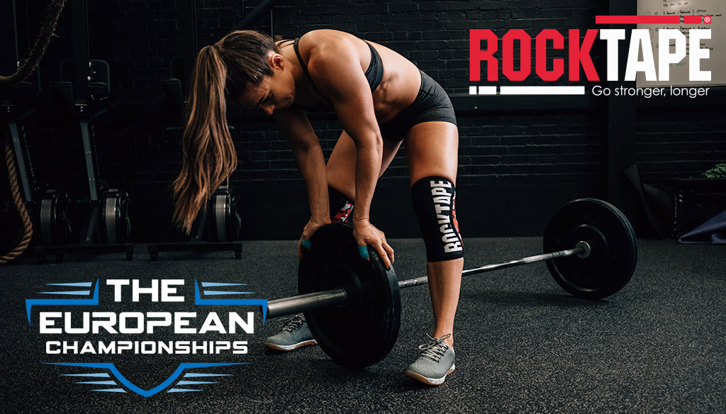RockTape headline sponsor of the European Championship Crossfit event in Colchester